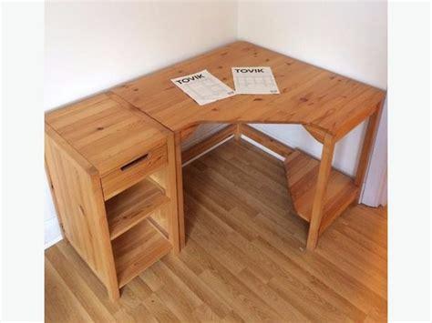 Ikea Schreibtisch Kiefer by Ikea Corner Desk Solid Wood Pine City