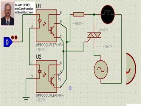 triac interface  microcontrollers youtube