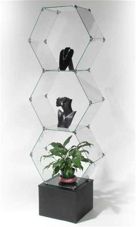 glass cube display glass cube display unit glass display stand 1226