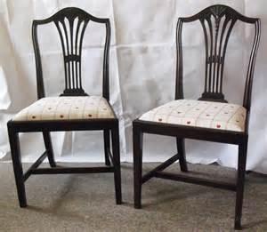 19th century quot hepplewhite quot dining chairs antiques atlas