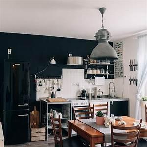 Küche Vintage Style : k che retro vintage industrial stilmix altbau in 2019 wohnen im industrie stil ~ A.2002-acura-tl-radio.info Haus und Dekorationen