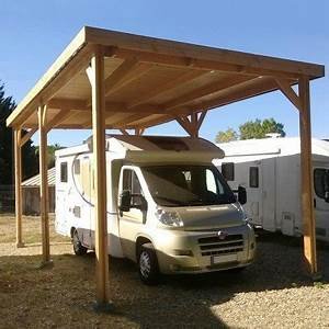 Carport Camping Car : carport en bois pour camping car no garages et carports ~ Dallasstarsshop.com Idées de Décoration