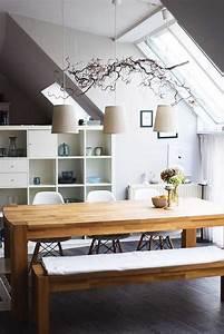 Essecke Mit Stauraum : esszimmer unter der dachschr ge renovierung pinterest tische r ume und liebe ~ Indierocktalk.com Haus und Dekorationen