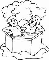 Bath Coloring Pages Anime Bathroom Animated Coloringpages1001 Colouring Getcoloringpages Tub Printable Fullsize sketch template