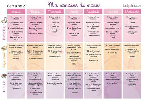 cuisine az menu de la semaine menus pour mincir sur une semaine ou pour un mois de regime
