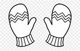 Mitten Clipart Clip Mittens Coloring Gloves Winter Colouring Cute Glove Thanksgiving Permalink Educations Library Pinclipart Graphic sketch template