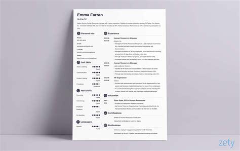 resume design ideas inspirations templateshow