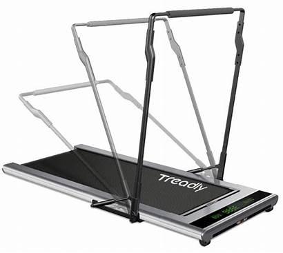 Treadmill Treadly Vibra Handrail Walk Hydraulic Very