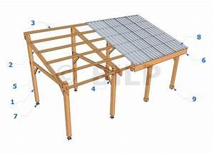Faire Un Carport : la toiture monopente guide de construction des carport ~ Premium-room.com Idées de Décoration
