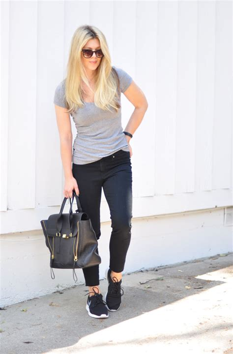 Easy . Sporty . Chic // Black+Gray+Nike for the Win | ...love Maegan