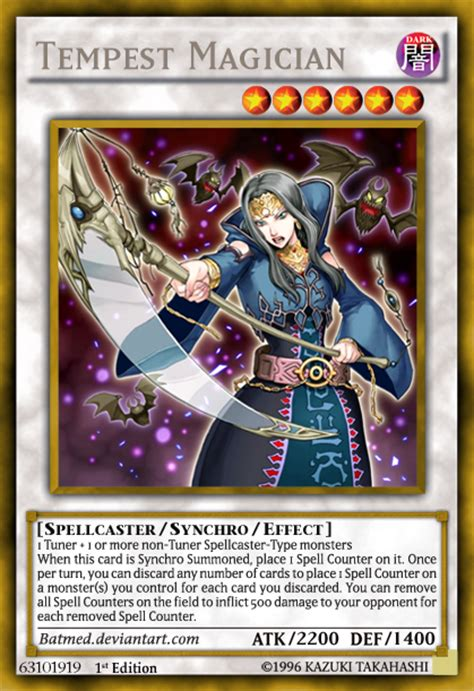 Arcanite Magician Deck Otk by Tempest Magician By Batmed On Deviantart