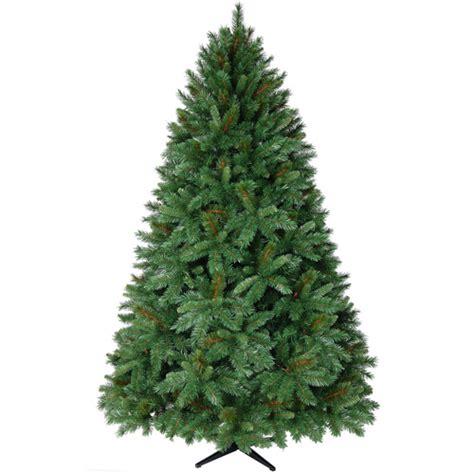 donner fir artificial christmas tree unlit walmart com