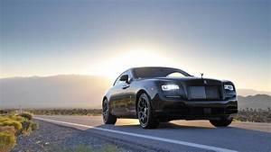Rolls Royce Wraith Black Badge 4K Wallpaper HD Car