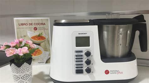 cuisine cuisine plus funcionamiento monsieur cuisine plus silvercrest lidl