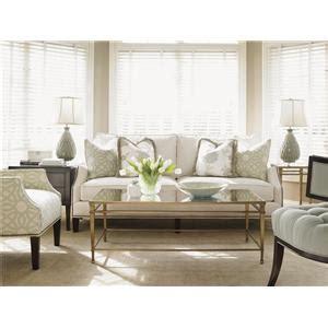 kensington place transitional pendleton sofa