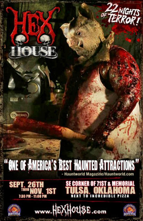 the hex house tulsa ok haunted house in tulsa oklahoma ok the hex house