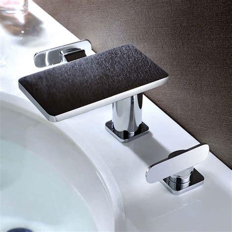 Badarmaturen Fuer Waschtisch Dusche Und Badewanne by Sanlingo Badezimmer Bad 3loch Waschbecken Badewanne