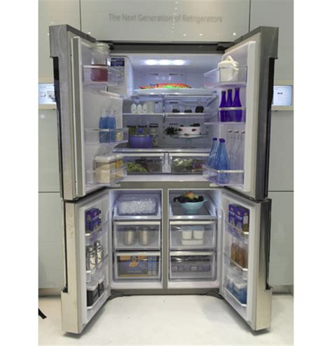 samsung four door refrigerator samsung t9000 four door refrigerator with android