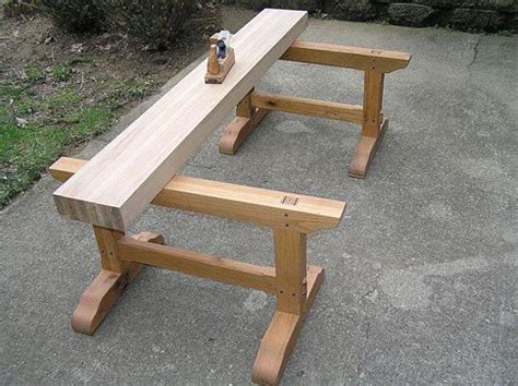 japanese woodworking planing beam   horse