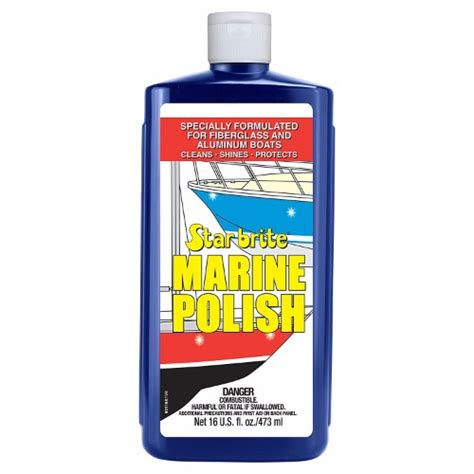 Starbrite Boat Polish by Starbrite Marine Polish 16 Oz The Harbour Chandler Ltd
