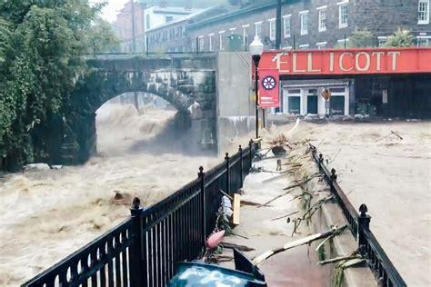 ellicott city maryland flooding climate change