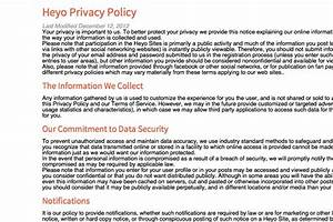 wonderful privacy statement template pictures inspiration With generic privacy policy template