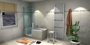 Fliesen Für Kleine Bäder : badplanung mit duschbadewanne fliesen fieber ~ Bigdaddyawards.com Haus und Dekorationen