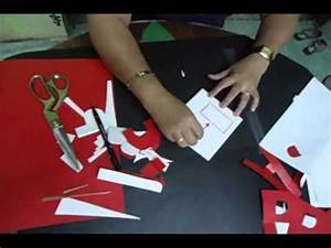 step by step a to z letter cutting youtube With letter cutting