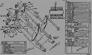 7k9651 Bucket Control Group - Track-type Loader Caterpillar 951b