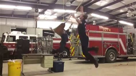 FUNNY VIDEO: When the Rookie Cleans the StationBUSTED