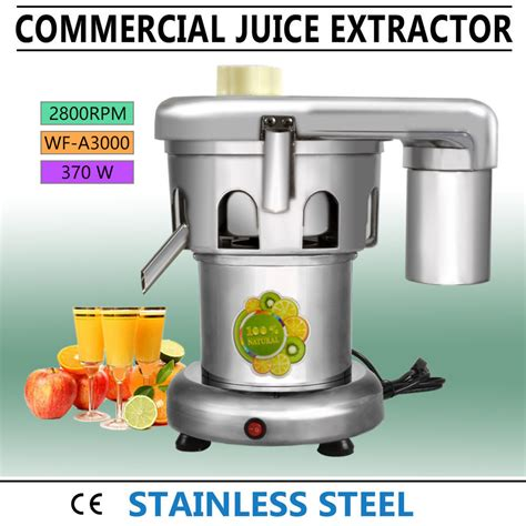extractor juicer juice commercial duty heavy stainless steel wf a3000