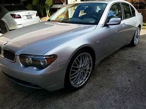 Find Used 2004 Bmw 745i Silver Good Condition Inside And