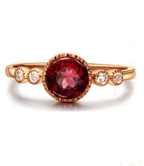 carat ruby  diamond antique engagement ring  yellow