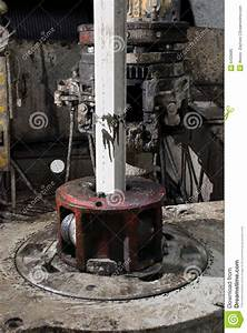 Rotary Table Of Drilling Rig Stock Image