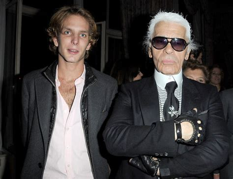 karl lagerfeld honorary member  monacos royal family