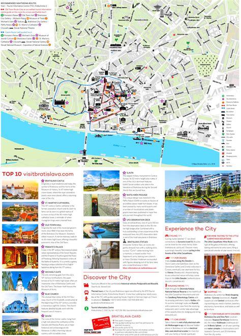 bratislava tourist attractions map