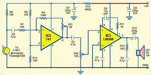 Ir Music Transmitter And Receiver
