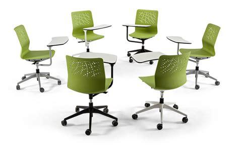 Urban Chaise Avec Tablette écritoire By Actiu Design
