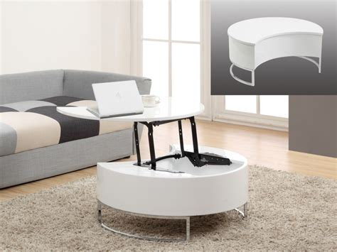 ikea meuble bureau rangement table basse avec plateau relevable alanis 2 coloris