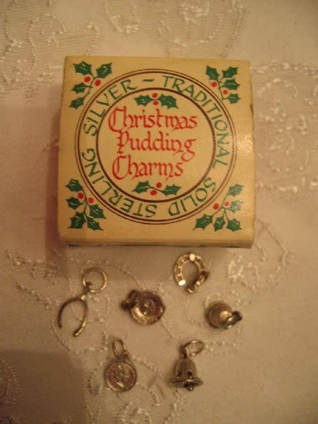 christmas pudding birthday  shower charms vintage