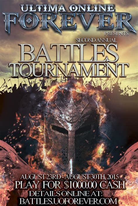Uo Forever Templates by Uoforever 2nd Annual Battles Tournament 7 Days Of