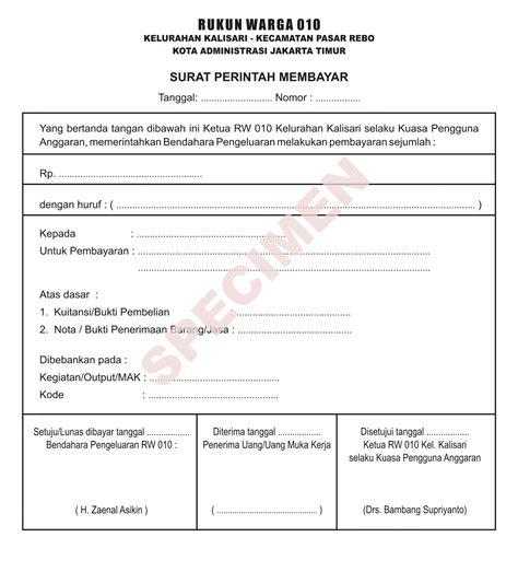 Contoh Surat Perintah Wood Scribd Indo