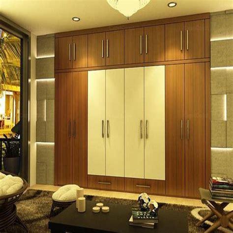6 Foot Wardrobe by 8 6 Brown White Bedroom Wardrobe Rs 1000