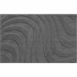 tapis de bain 100 x 60 gris achat vente tapis de bain With tapis de bain 120x70