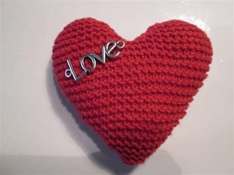 tuto tricot apprendre a tricoter un coeur coeur au tricot facile
