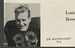 Jim McConaughey- actor Matthew McConaughey's Father (bio ...