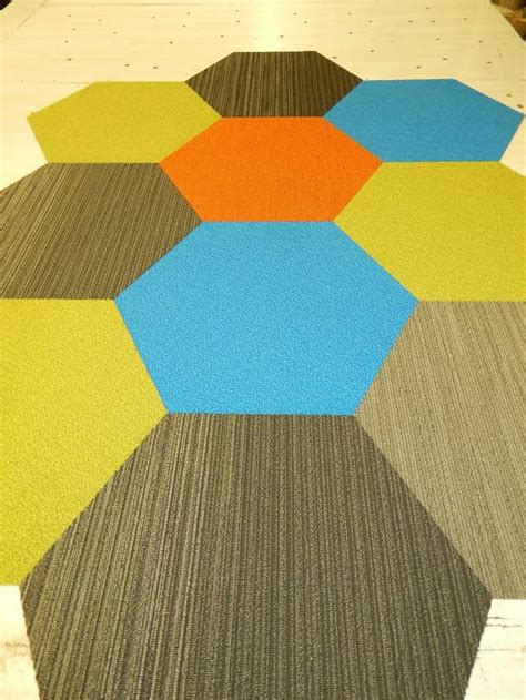 11 best images about hexagon carpet tiles on