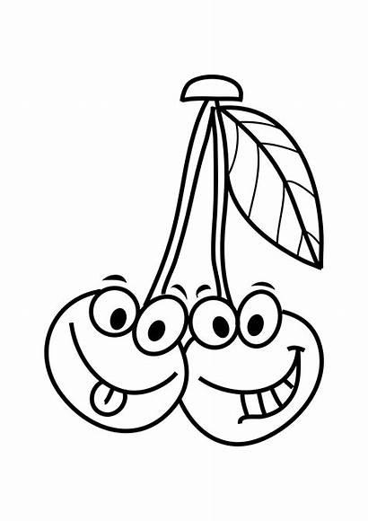 Coloring Smart Fruits Pages Vegetables Preschool Worksheets