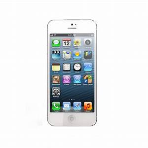 white iphone 5 front