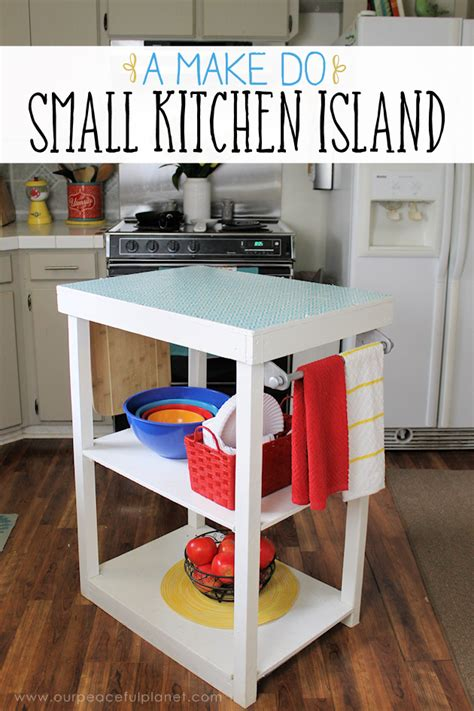 how do you build a kitchen island a do small kitchen island from what we had